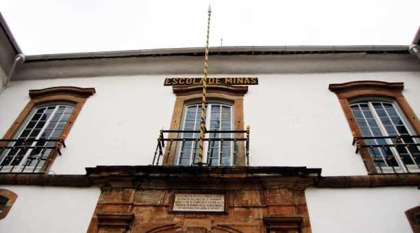 Ouro Preto na Pascoa - Museu de Ciência e Técnica da Escola de Minas