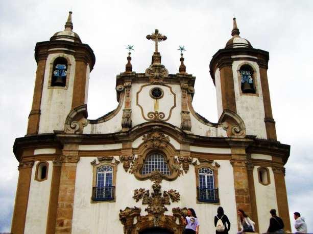 Ouro Preto na Pascoa - Igreja Nossa Senhora do Carmo