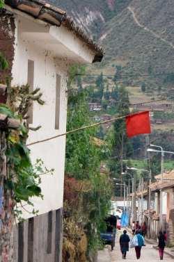 Valle Sagrado - Andahuaylillas - Aqui vende Chicha Morada