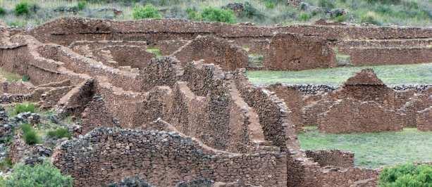 Valle Sagrado - Pikillacta - Vários muros