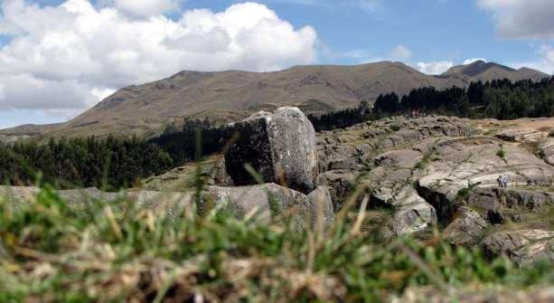 Valle Sagrado - Sacsayhuamán - de onde vinham as pedras