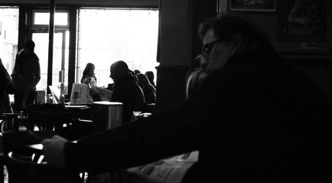 Comer bem em Montreal - Caffé Italia - Concentração