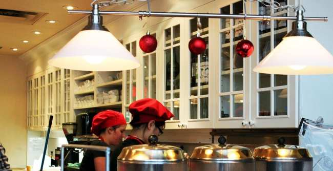 Comer bem em Montreal - Juliette - cozinha