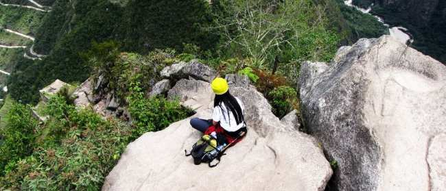 Roteiro do Peru - Machu Picchu - um lugar calmo e tranquilo para uma leitura
