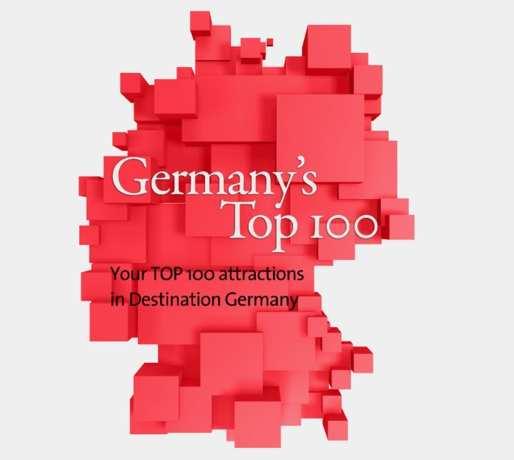 Top 100 Germany - 100 melhores lugares da Alemanha segundo os turistas