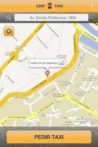 Apps de Táxi - Easy Taxi - defina sua localização