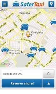 Apps de Táxi - Safer Taxi - taxistas próximos