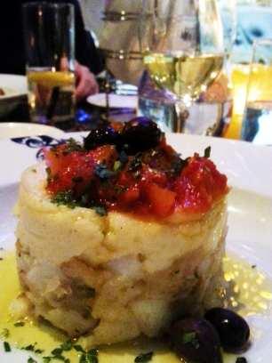 Comer bem em Montreal - Ferreira Café - bacalhau