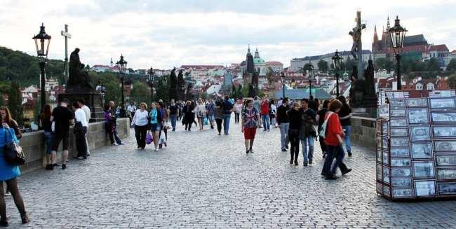 Como ir de Munique para Praga - Ponte Carlos