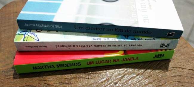 Livros de viagem - Juremir, Marta e Thomas
