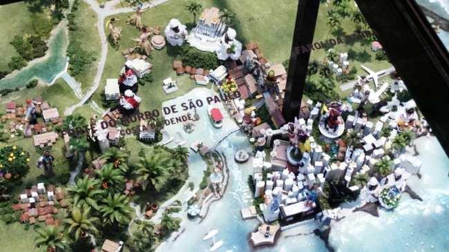 Salão Baiano de Turismo - Maquete do estado da Bahia 2013