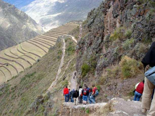 Trilhas no Peru: Trilha de Salkantay - caminho