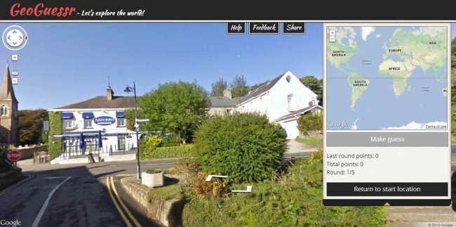 Geoguessr - Adivinhe de onde é essa foto do Google Street View