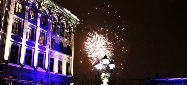 Natal e ano novo na neve de Montreal - Mais fogos de ano novo