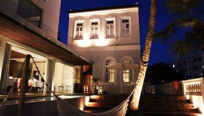 Onde ficar em Salvador - vista noturna interna
