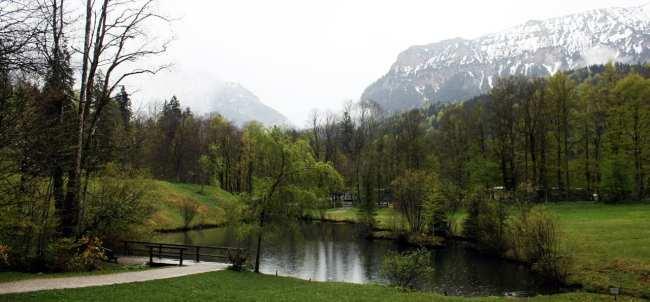 Castelos da Alemanha - Entrada do Linderhof