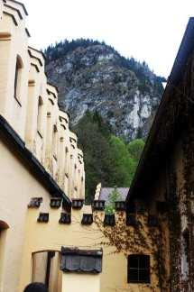 Castelos da Alemanha - Montanha próxima ao castelo de Neuschwanstein