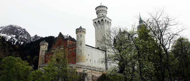 Dicas e roteiros de Munique - Detalhes do Castelo de Neuschwanstein