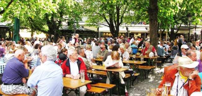 Centro histórico de Munique - Viktualienmarkt