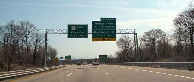 Dicas para dirigir nos EUA - Placas na estrada