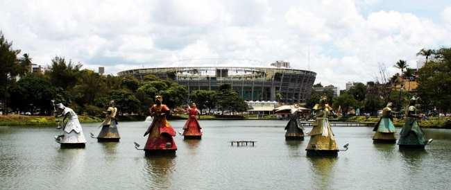 Fim de semana em Salvador - Orixás no Dique Tororó