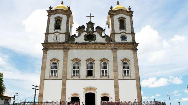 Fim de semana em Salvador - Igreja Nossa Senhor do Bonfim