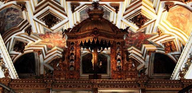 Fim de semana em Salvador - Dentro do Convento de São Francisco