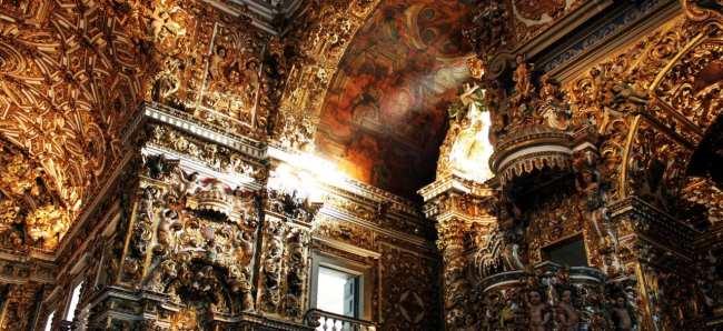 Fim de semana em Salvador - Detalhes do Convento de São Francisco