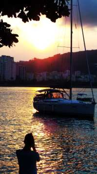 Roteiro de Botecos no Rio de Janeiro - Pôr do Sol na Urca 03