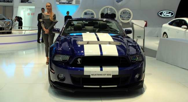 Salão do Automóvel - Ford Mustang Shelby GT500