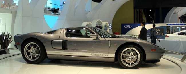 Salão do Automóvel - Ford GT