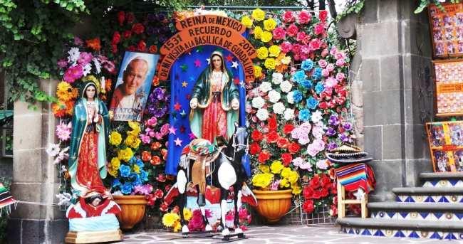 Basílica de Guadalupe - pausa para uma foto