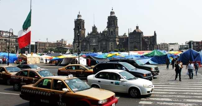 Melhores bairros para ficar na Cidade do México - Zócalo 01