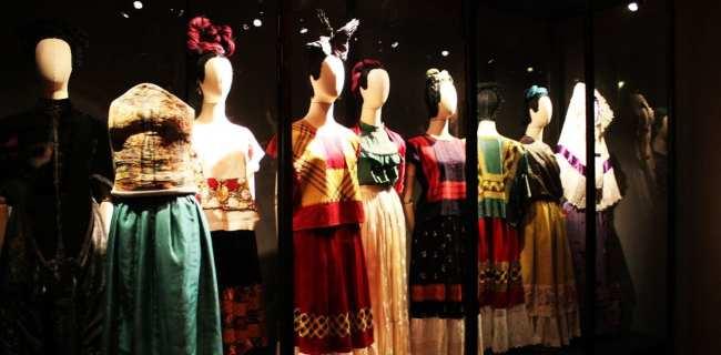 Museu Frida Khalo - Vestidos da Frida