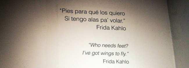 Museu Frida Khalo - Poema