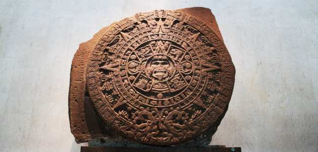 Museu Nacional de Antropologia - Pedra do Sol Asteca