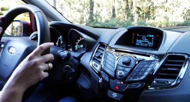 New Fiesta Sedan 2014 - Painel