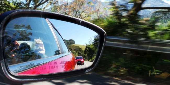 New Fiesta Sedan 2014 - retrovisor