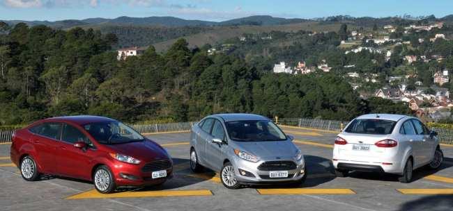 New Fiesta Sedan 2014 - foto divulgação 02