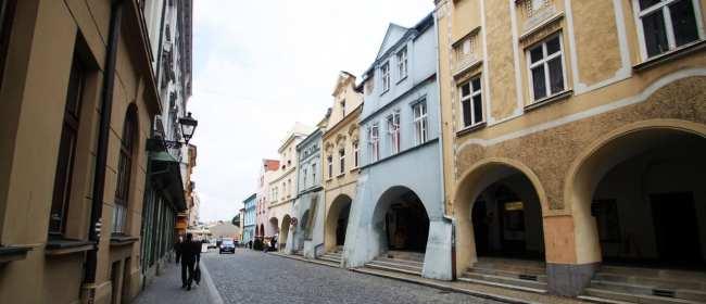 Novy Jicín - Ruas da cidade