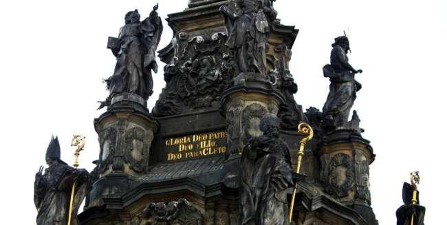 Olomouc - Holy Trinity Column detalhes