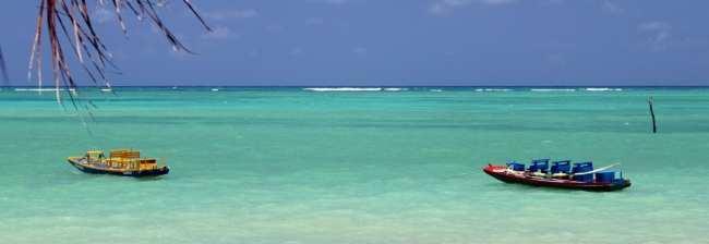 Pousada do Toque - mais praia e barquinhos