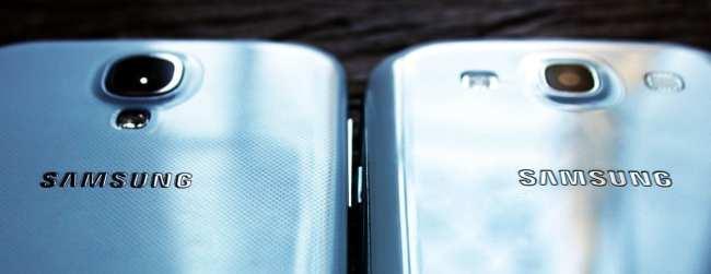 Samsung Galaxy S4 - detalhes no corpo do aparelho