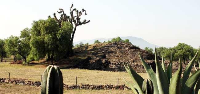 Teotihuacán - Como era antes e depois da reconstrução