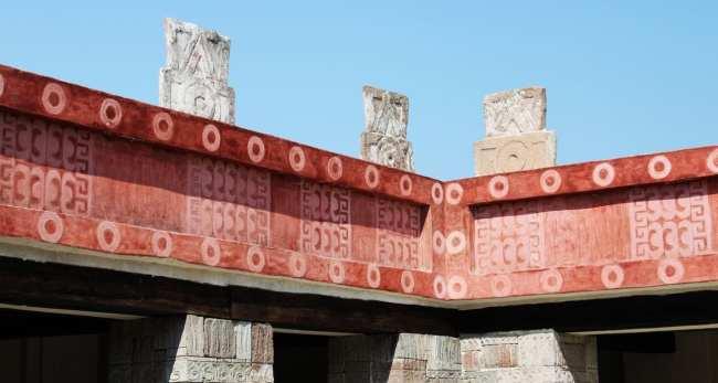 Teotihuacán - casa ou templo teotihuacano