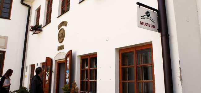 Queijo de Olomouc - Entrada do Museu