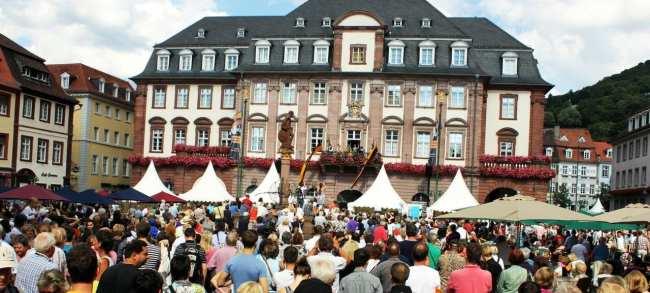 10 mitos sobre a Alemanha - Festa de Heidelberg
