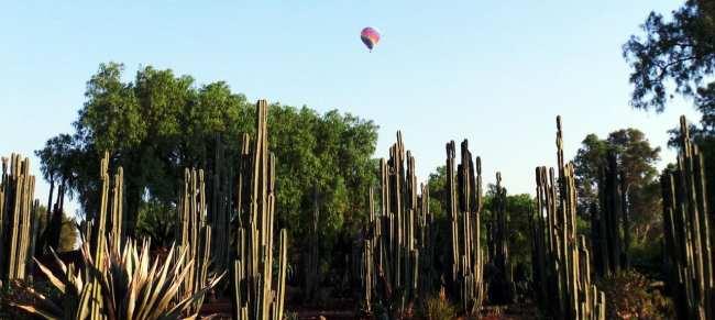 Como ir a Teotihuacán - Balão acima das ruínas
