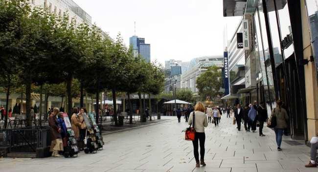 Dicas de Compras em Frankfurt - Zeil