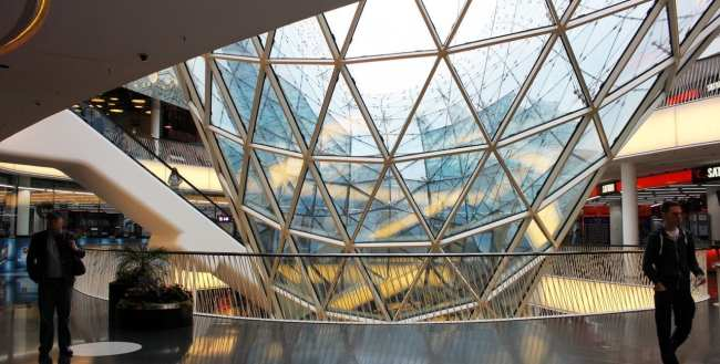 Dicas de Compras em Frankfurt - Interior do My Zeil 1